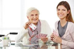 Demenz, Betreuung, Beschäftigung